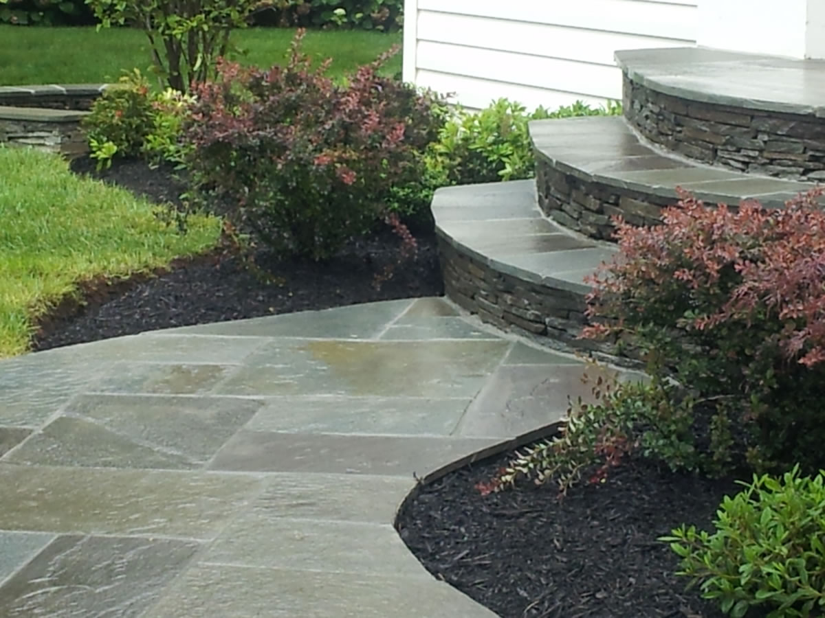 Custom patios stonework northern virginia your for Landscaping rocks northern virginia